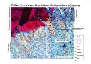 mappa geologica supervulcano della Valsesia